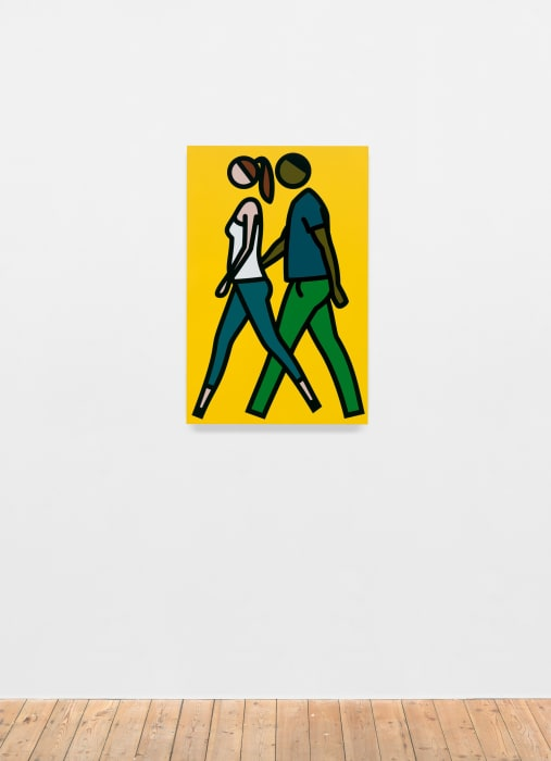 Shaida and Faime. 1. by Julian Opie