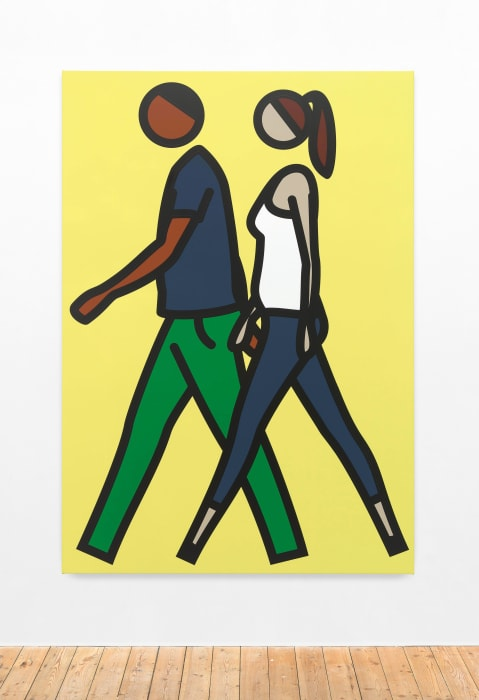 Shaida and Faime. 2. by Julian Opie