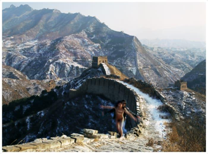 Great Wall by Ma Liuming