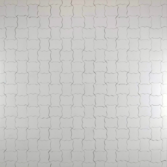 Little Fat Flesh the Myriad Brackets 120cm² White by Inga Svala Thorsdottir and Wu Shanzhuan