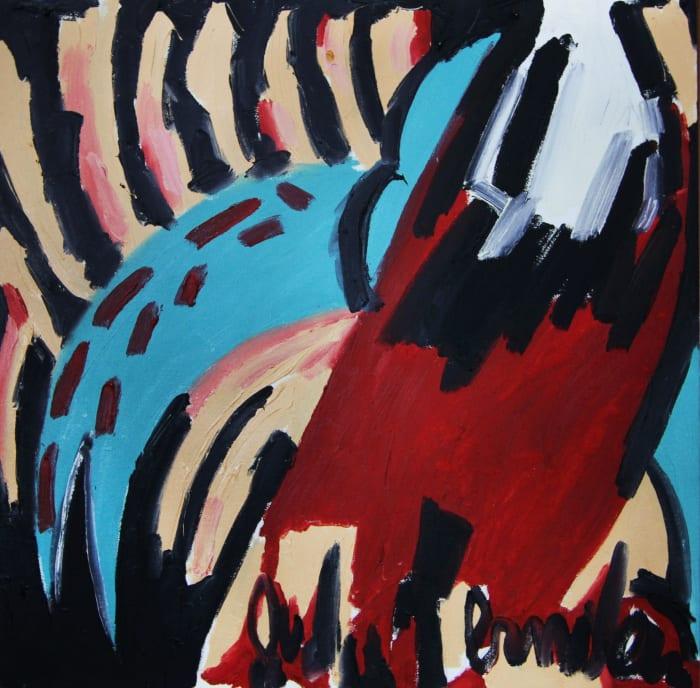 Anthurium in Color V by Judith Bernstein
