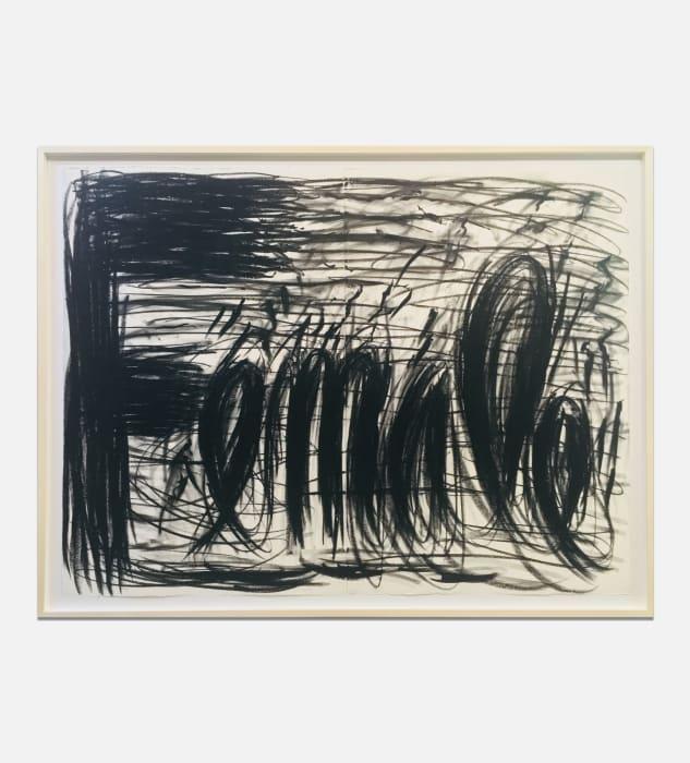 Female by Judith Bernstein