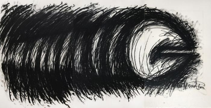 Horizontal by Judith Bernstein