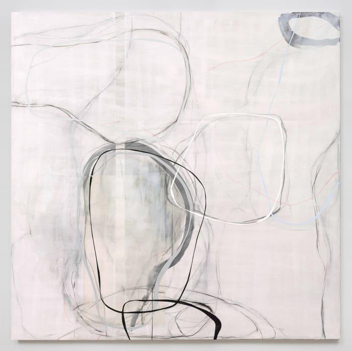 Lines: white shadows No.3 by Zhou Li