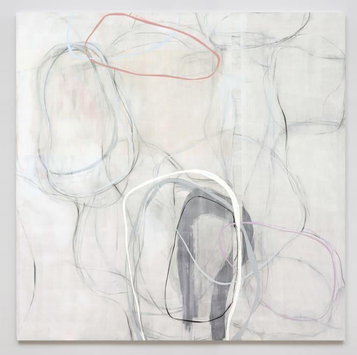 Lines: white shadows No.4 by Zhou Li