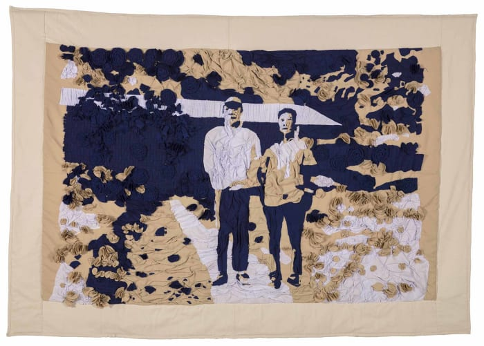Huai Mo Village – Tapestry by Hsu Chia-Wei
