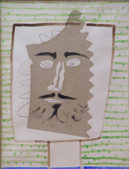 Tete de faune barbu by Pablo Picasso