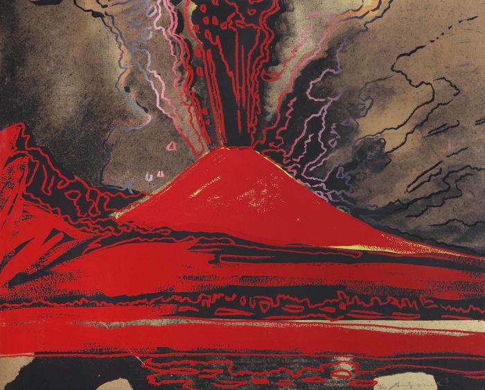 Vesuvius by Andy Warhol