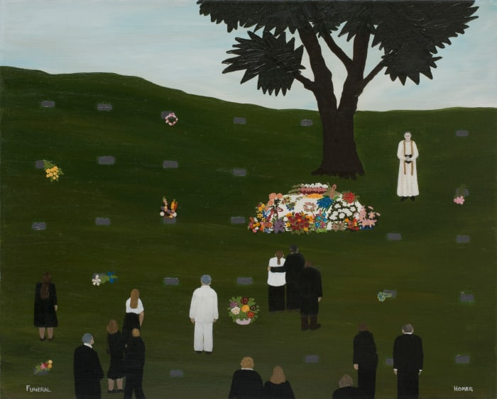 Funeral by Jessie Homer French