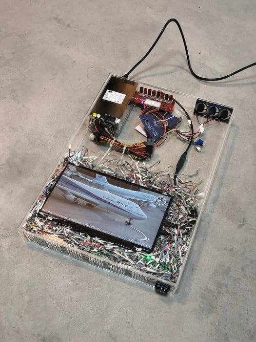 dust scraper fan 4.2 (context collapse archive 05.18) by Yuri Pattison