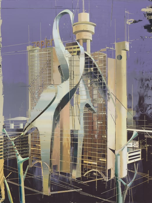 Western City Gate by Cui Jie