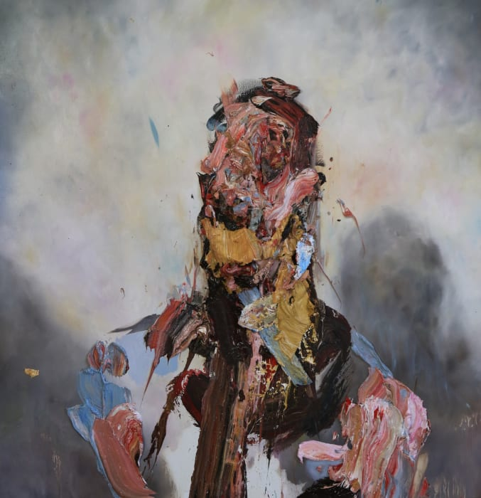 Self-Portrait (Flayed Construct) by Antony Micallef