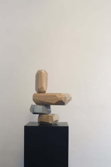 Micro Rock Formation Wood by Arik Levy