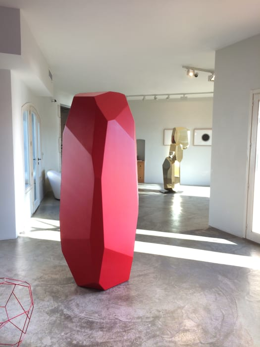 - Rock Stone 198 Red by Arik Levy