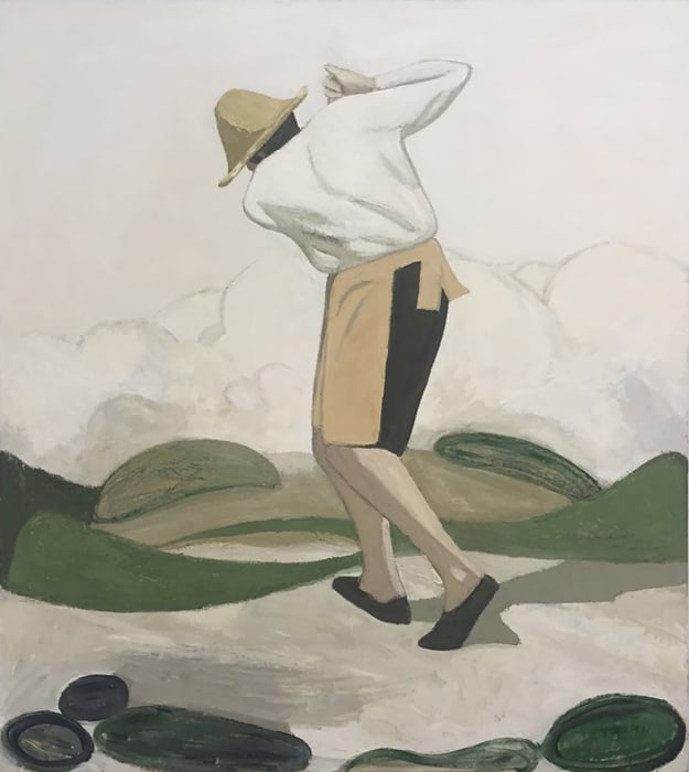 Untitled - Highland Practice Court 2 by Xiaohui Liu