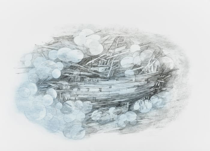 Objects from the Deep: Shipwreck by Naiza H. Khan