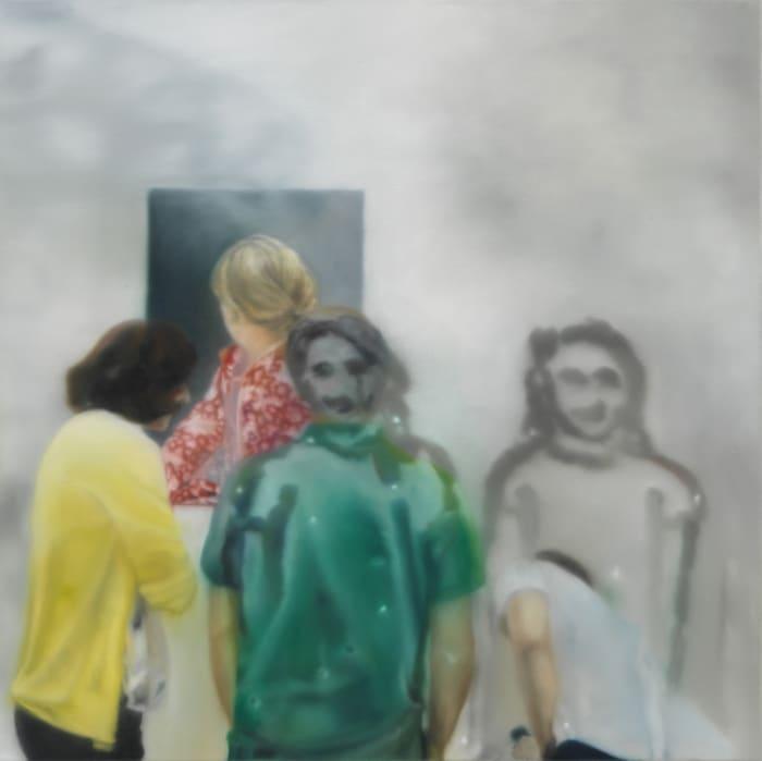 untitled by Karin Kneffel