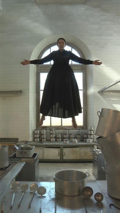 The Levitation of Saint Therese by Marina Abramović