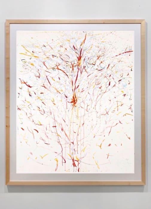 Das Weiße Feuer by Rebecca Horn