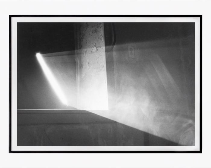 Room with Altered Window by Anthony McCall
