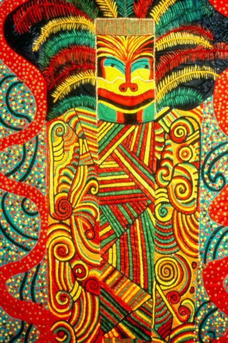 Hopi Mask by Pacita Abad