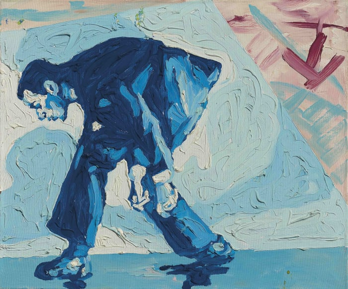 Untitled (Self Portrait) by Martin Kippenberger & Albert Oehlen
