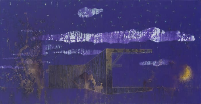 Forever-Cloud at Night by Xuhui Mao
