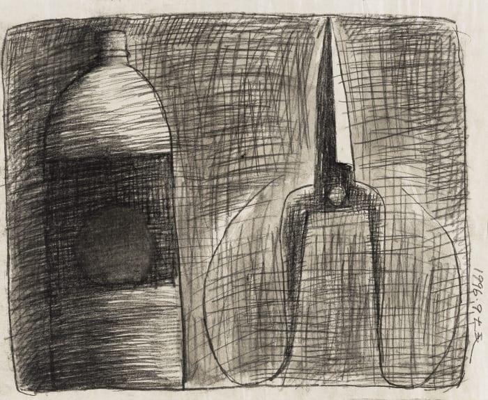 Scissor and Plastic Bottle by Xuhui Mao