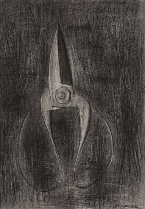 Scissor and Pond by Xuhui Mao