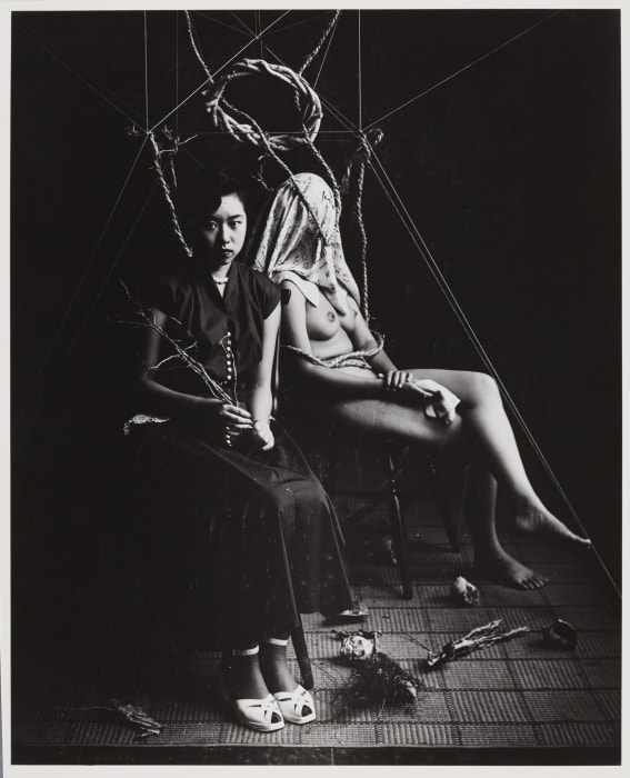 Portrait of the Artist - in Nobuya Abe's Atelier by Kiyoji Otsuji