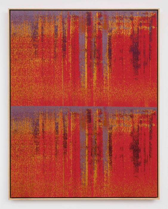 Negative Entropy (TAE Pulse Capacitor, Red, Double) by Mika Tajima