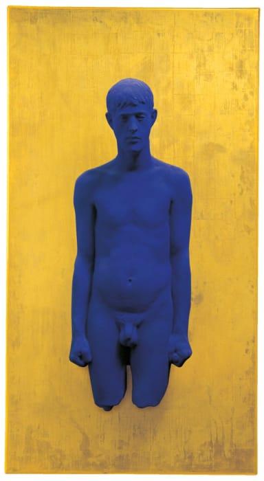 PR2 - Portrait relief de Martial Raysse by Yves Klein