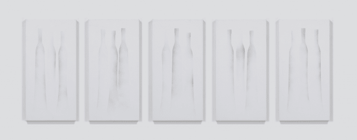 Still Life (Bottles) No.1-5 by Katsuhiko Narita