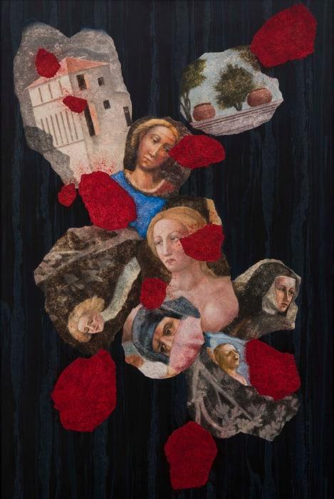 Untitled ‐ VI (Italian Girlfriends) by Atul Dodiya