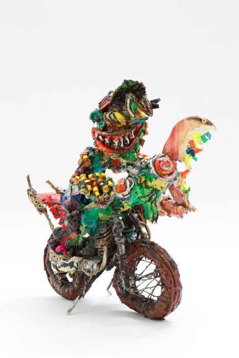 Praying mantis-man Rider by Ushio Shinohara