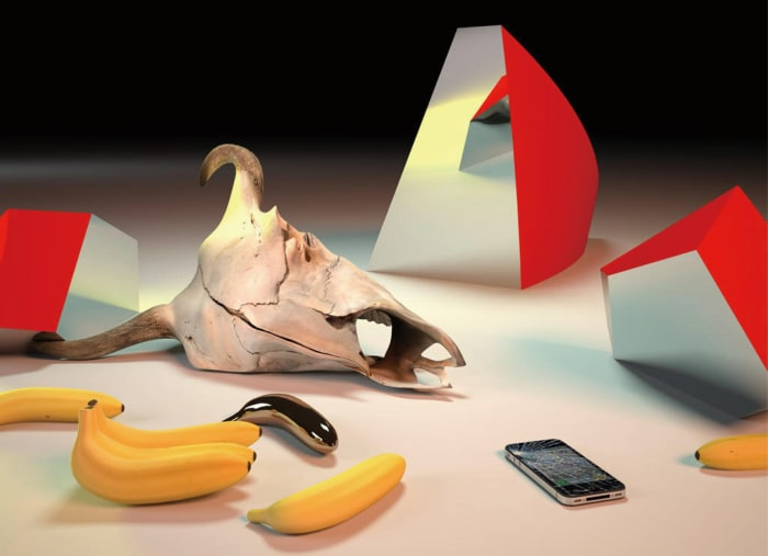 Golden Banana by Takeshi Murata