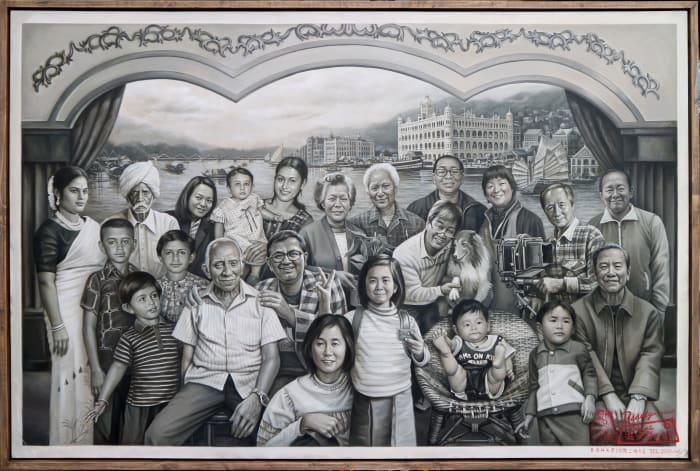 A Tale of Two Cities by Navin Rawanchaikul