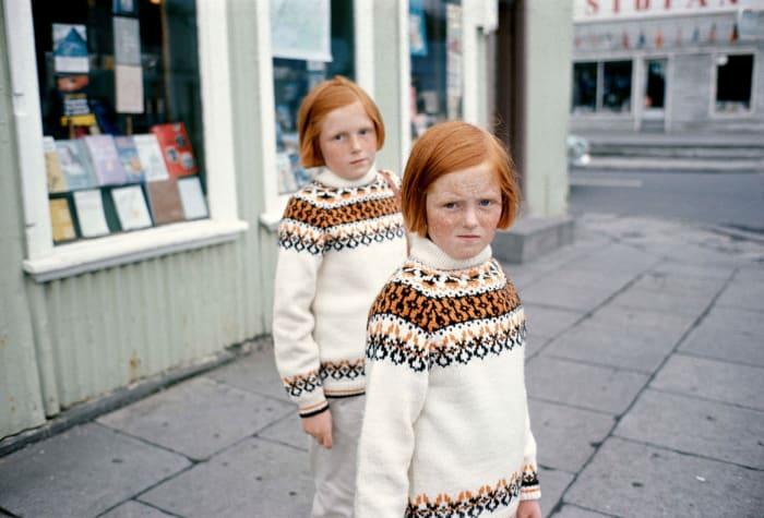 Reykjavik (formerly known as Belgie (Twins) 1968) by Ed van der Elsken