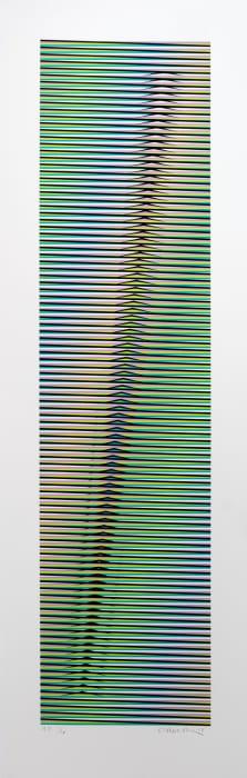 Induction chromatique à double Fréquence Aro A by Carlos Cruz-Diez