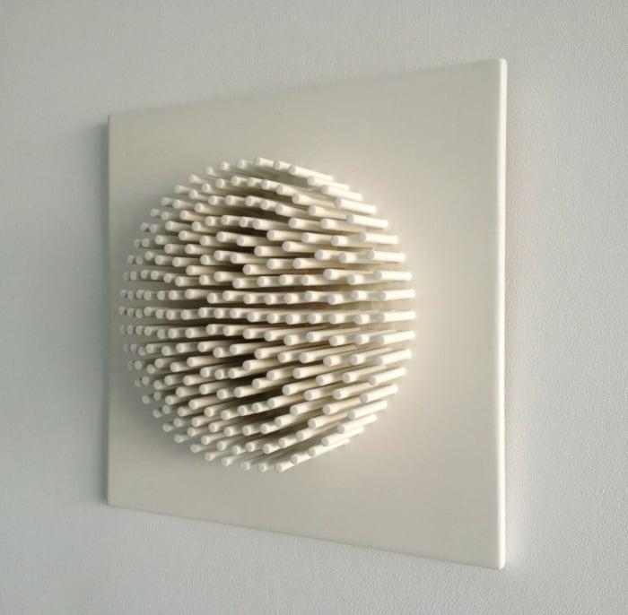 Kleines kreisbild variation' (für babette), #12 by Ewerdt Hilgemann