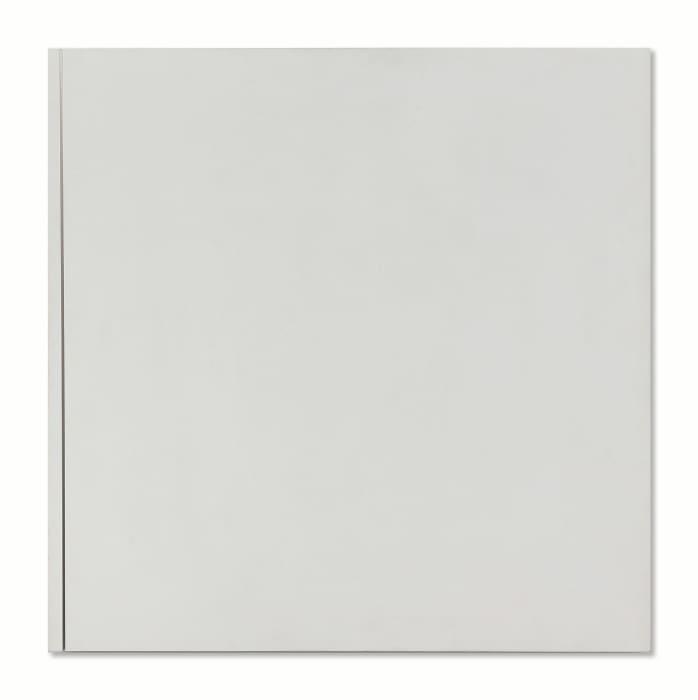 Vierkant met oplopende zaagsnede (Square with ascending cut) by Ad Dekkers