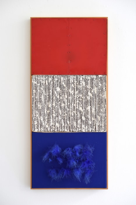 Rood, Wit, Blauw by Jan Schoonhoven