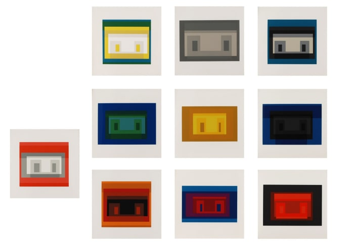 Ten Variants by Josef Albers
