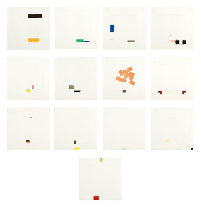 Edges by Richard Tuttle