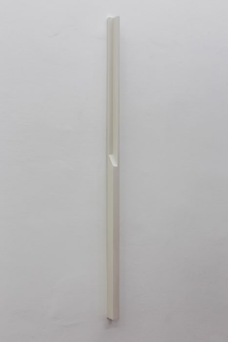 Plaster Object #6 (Formed speech) by Florian Pumhösl
