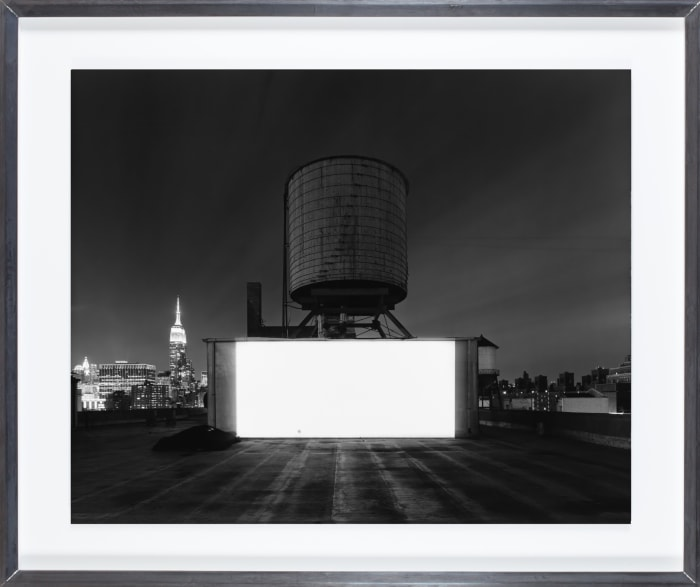 Wolf Building Rooftop, New York by Hiroshi Sugimoto