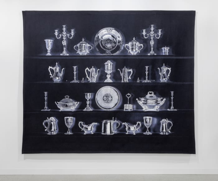 Thirty Pieces of Silver (A Tapestry) by Cornelia Parker