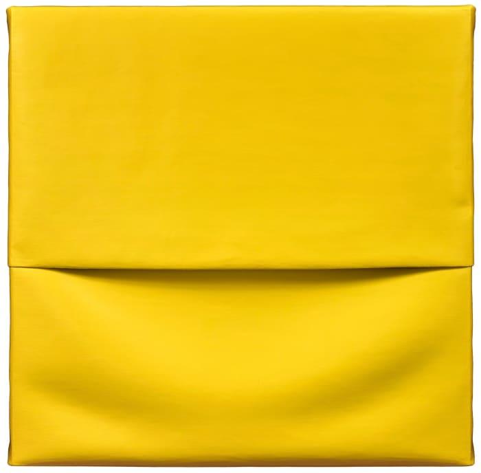 Concrete Canvas (Light Yellow) by Angela de la Cruz