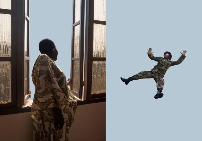 UNKNOWN SOLDIER (c) Series: FUNMILAYO Episode I by Cristina De Middel