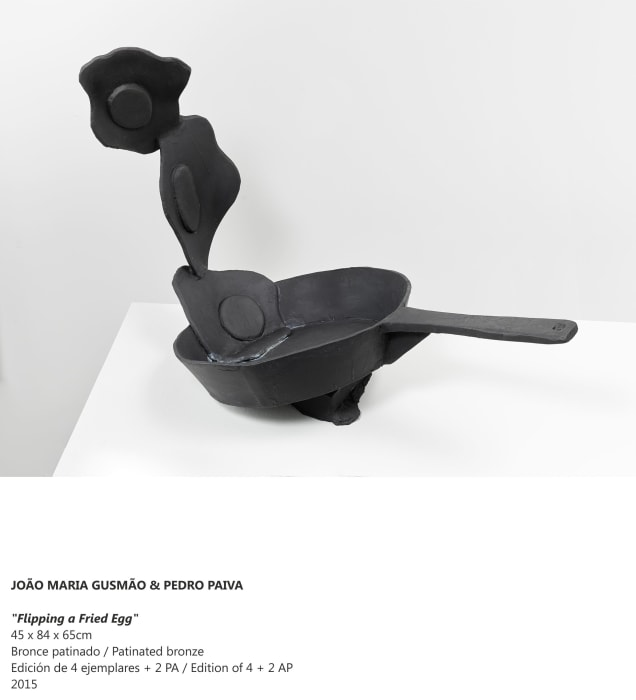 """""""Flipping a Fried Egg"""" by João Maria Gusmão + Pedro Paiva"""